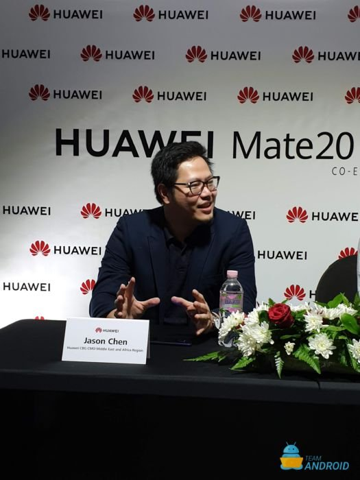 Interview with Huawei's Clement Wong and Jason Chen - Huawei Mate 20 Pro 7