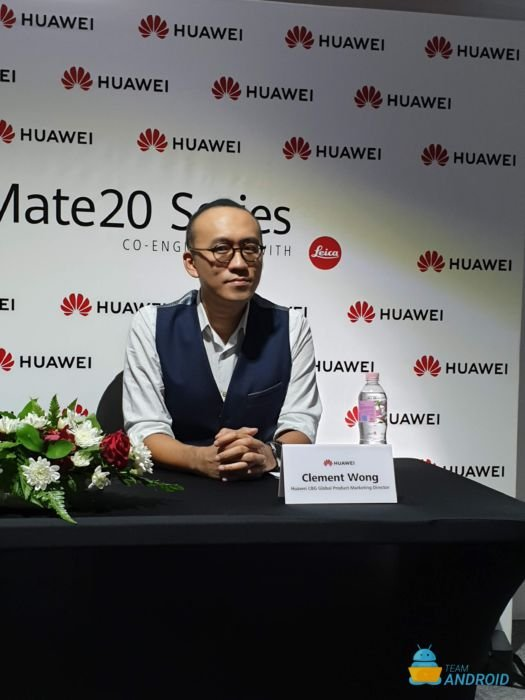 Interview with Huawei's Clement Wong and Jason Chen - Huawei Mate 20 Pro 8