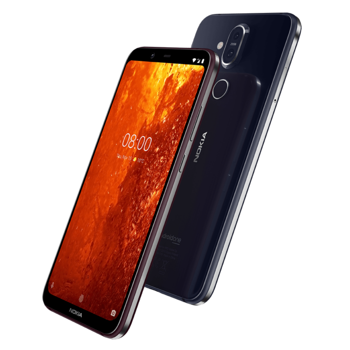 Nokia 8.1 Launched in Dubai with HDR10 Display, ZEISS Optics 18