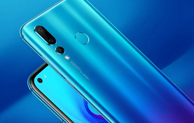 Huawei Nova 4, Hole Punch Display