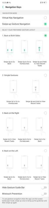 Enable Gesture Navigation on Oppo R17 Pro 11