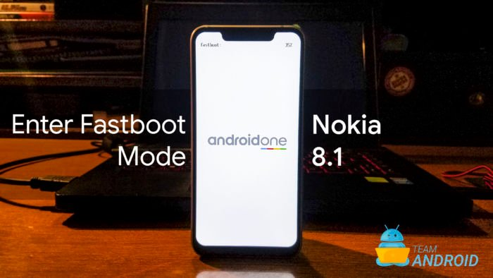 Fastboot Mode on Nokia 8.1