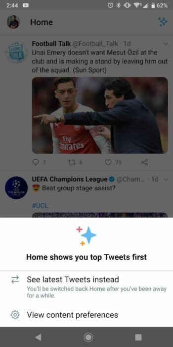 Enable Chronological Order Timeline on Twitter App for Android - How To 8