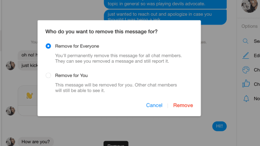 How to Delete / Unsend Messages on Facebook Messenger 11
