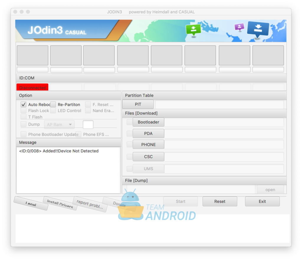 JOdin3 - Odin for Mac
