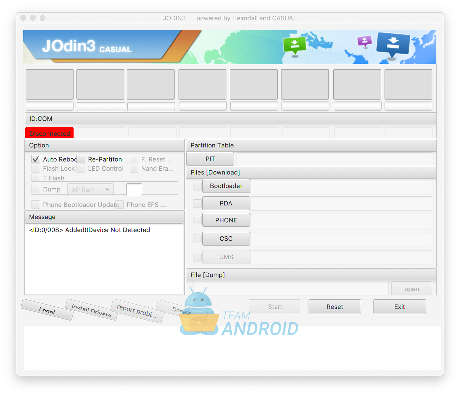 Download JOdin3 for Mac - Flash Samsung Firmware
