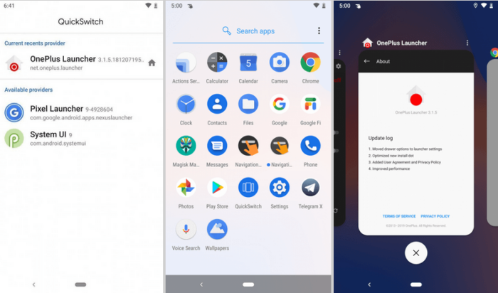 Install OnePlus Pie Launcher for Android Pie Devices [Root Required]
