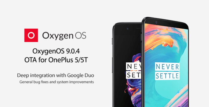 Download OxygenOS 9.0.4, OnePlus 5, OnePlus 5T
