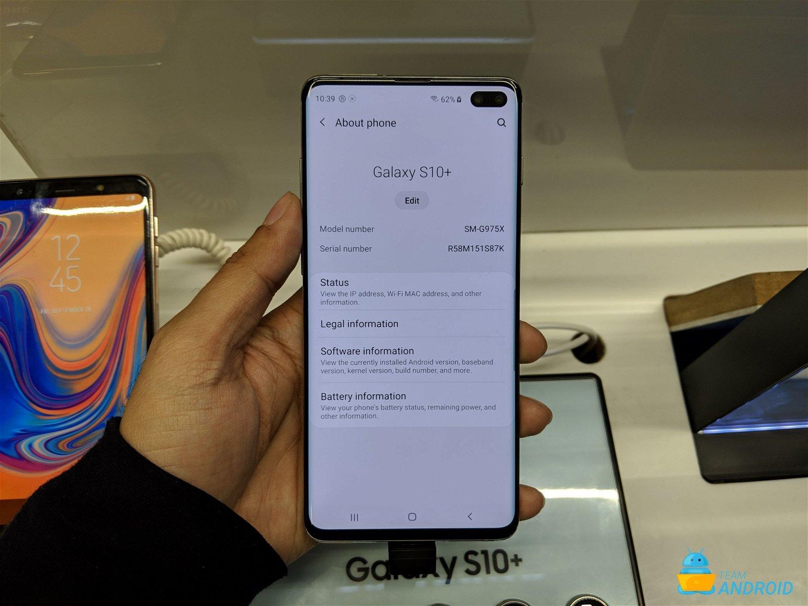 Sprint Galaxy S10 Receiving New Night Mode Camera Update 1
