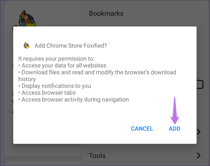 How to Install Chrome Extensions on Android (Firefox, Kiwi, Yandex) 17
