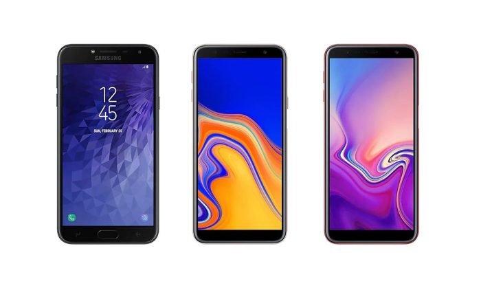 Samsung Galaxy J4, Galaxy J4 Plus, Galaxy J6 Plus, Android Pie