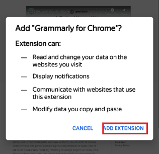 How to Install Chrome Extensions on Android (Firefox, Kiwi, Yandex) 10