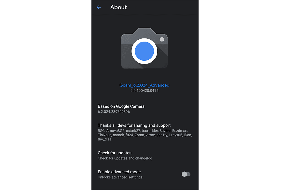 Download Google Camera 6 2 APK for Galaxy S10 / S9 / Galaxy Note 9