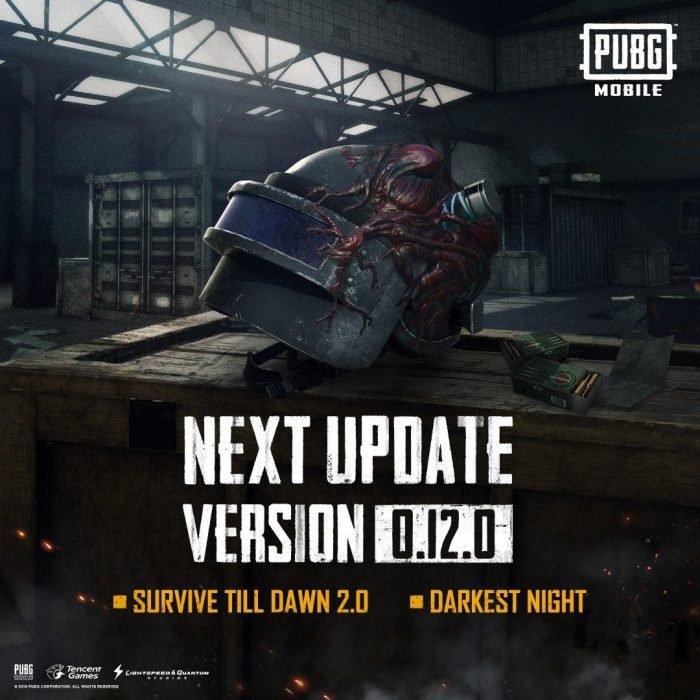 PUBG Mobile 0.12.0 Update