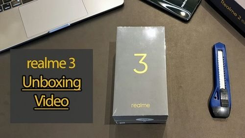 Realme 3 Unboxing on YouTube