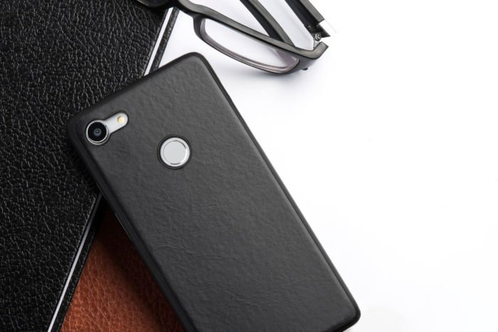 Totallee Thin Leather Case - Pixel 3