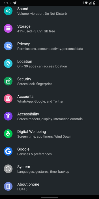Enable New Gestures in Android Q Beta 3 - Improved Navigation Gestures 13