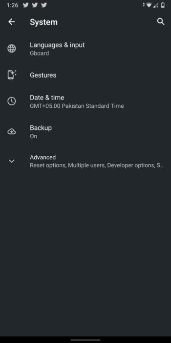 Enable New Gestures in Android Q Beta 3 - Improved Navigation Gestures 14