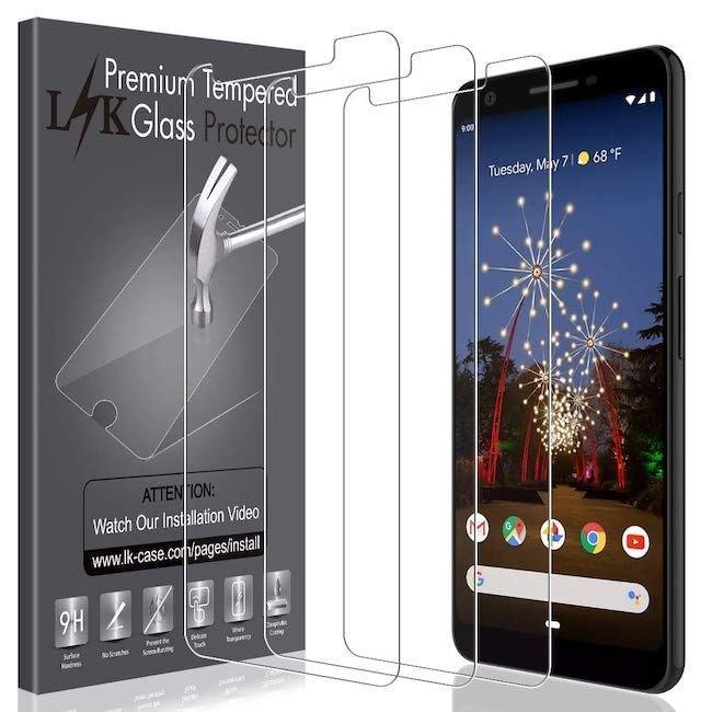 LK HD Clear Screen Protector - Google Pixel 3a