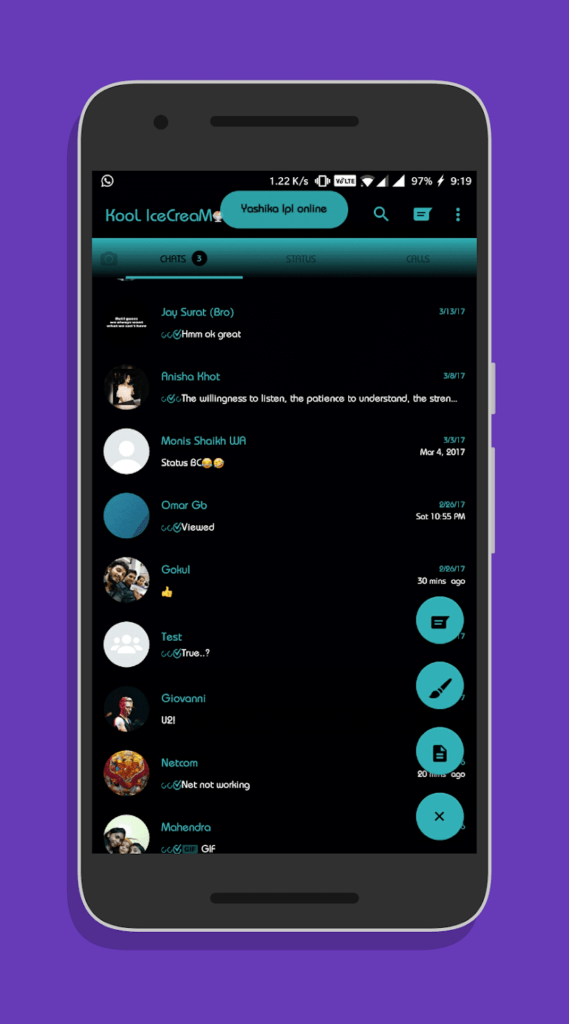WhatsApp THemes by OsmThemes