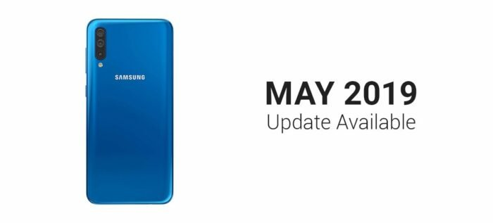 Galaxy A50, May Security Update
