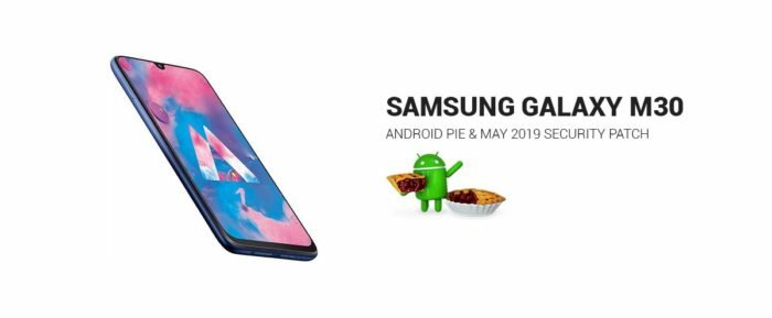 Samsung Galaxy M30, Android Pie