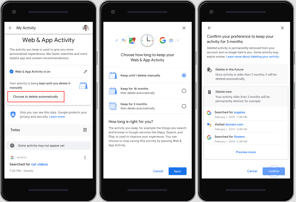 Google Soon to Allow Users to Auto-Delete Location History 1