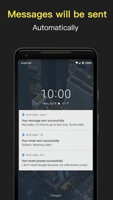 How to Schedule Text Messages / SMS on Android 7