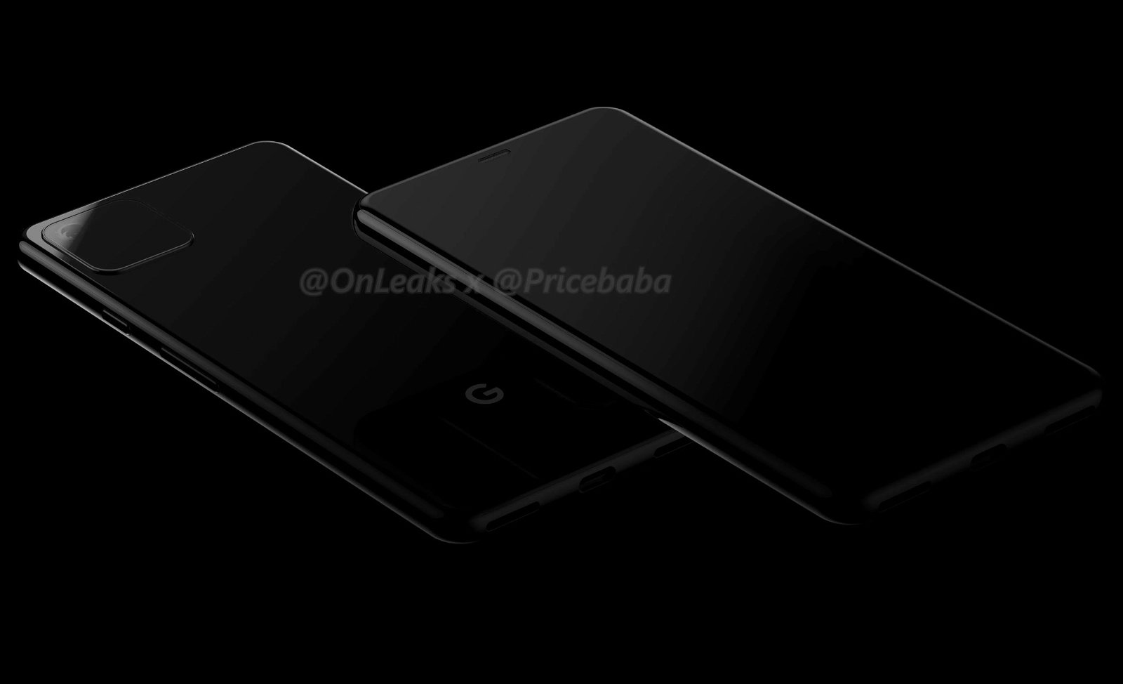 Google Pixel 4 Official Renders Leak Out 2