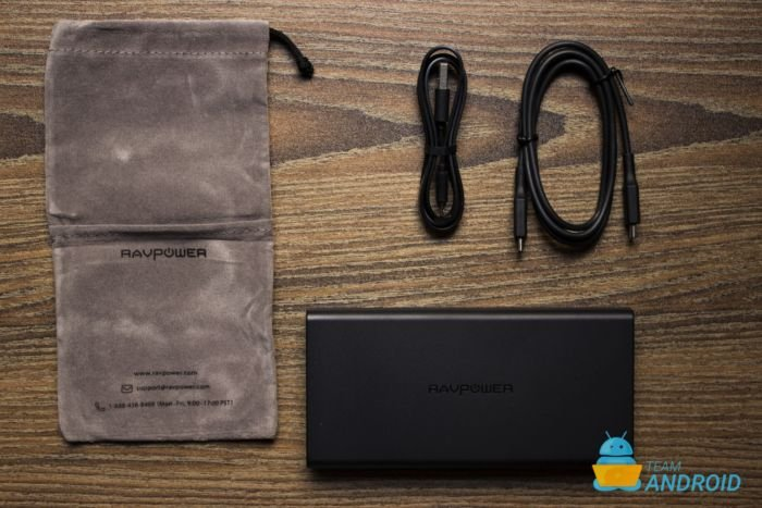 RAVPower 20,100mAh 45W Power Bank - Inside the box