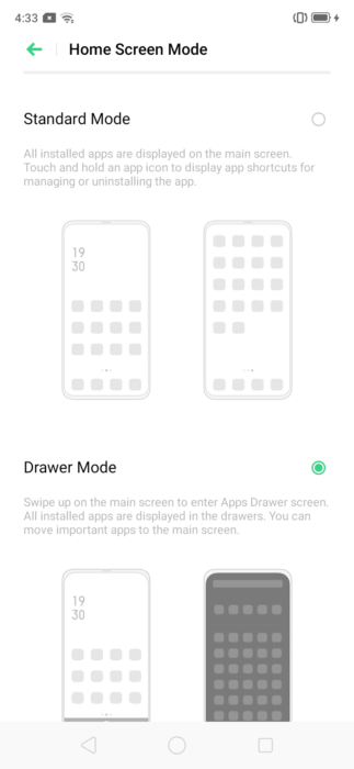 How to Show / Hide App Drawer on Realme C2 7