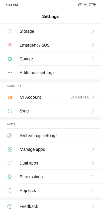 How to Enable One Handed Mode on MIUI 10 11
