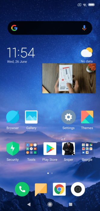 How to Use Picture-in-Picture Mode on MIUI 10 16