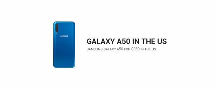 Sprint Galaxy A50, US