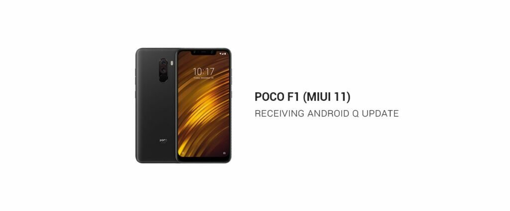 Poco F1 Confirmed to get Android Q MIUI 11 Update