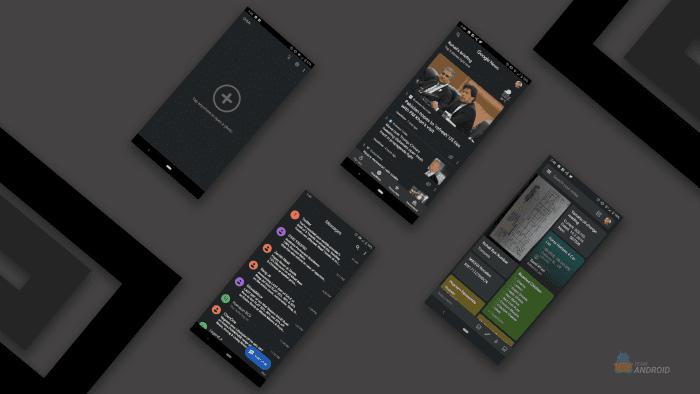 Enable Dark Mode, Google Apps