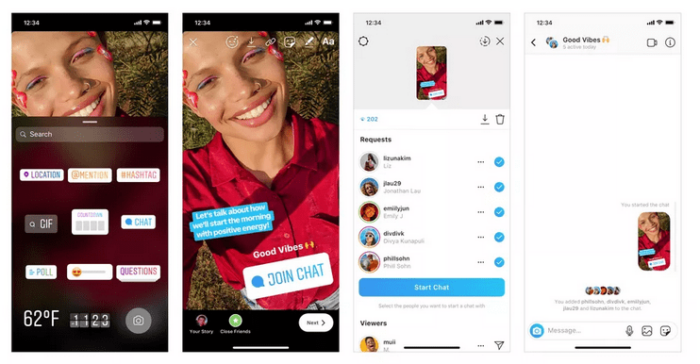 How to Use New Join Chat Instagram Story Sticker 12