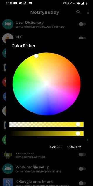 NotifyBuddy, Notification LED