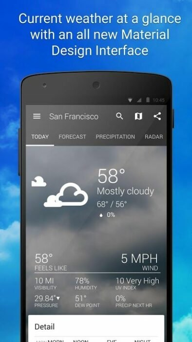 Best Weather Apps to Install on Android 14