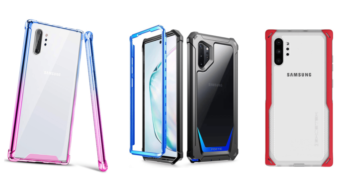 Samsung Galaxy Note 10 Plus, Clear Cases / Covers