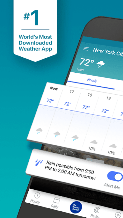 Best Weather Apps to Install on Android [August 2019]