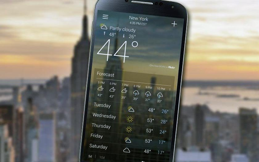 Best Weather Apps to Install on Android 5