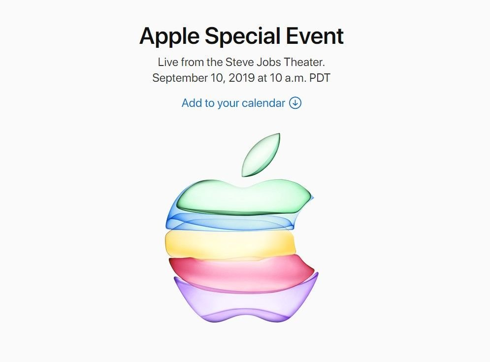 Watch iPhone 11 September Launch Event Keynote Live Stream 1