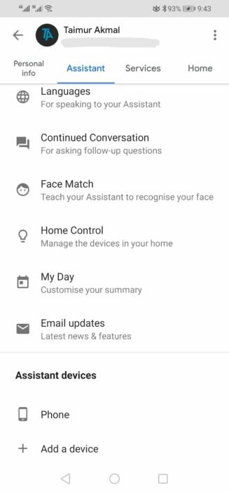 How to Disable Google Assistant Email Notifications / Updates 10