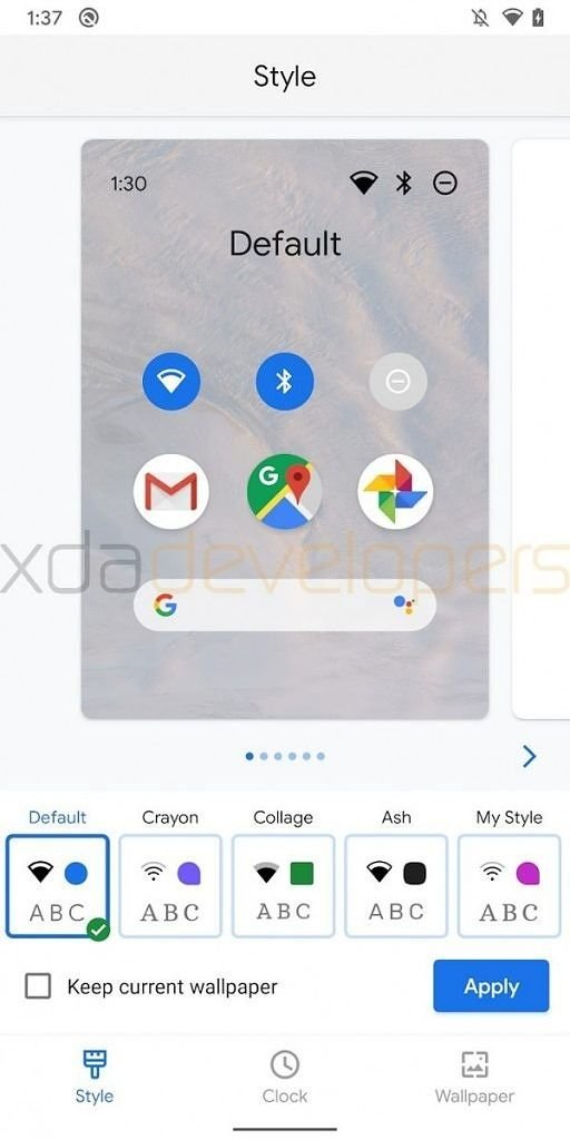 Download Google Pixel Themes APK for Pixel Phones 4