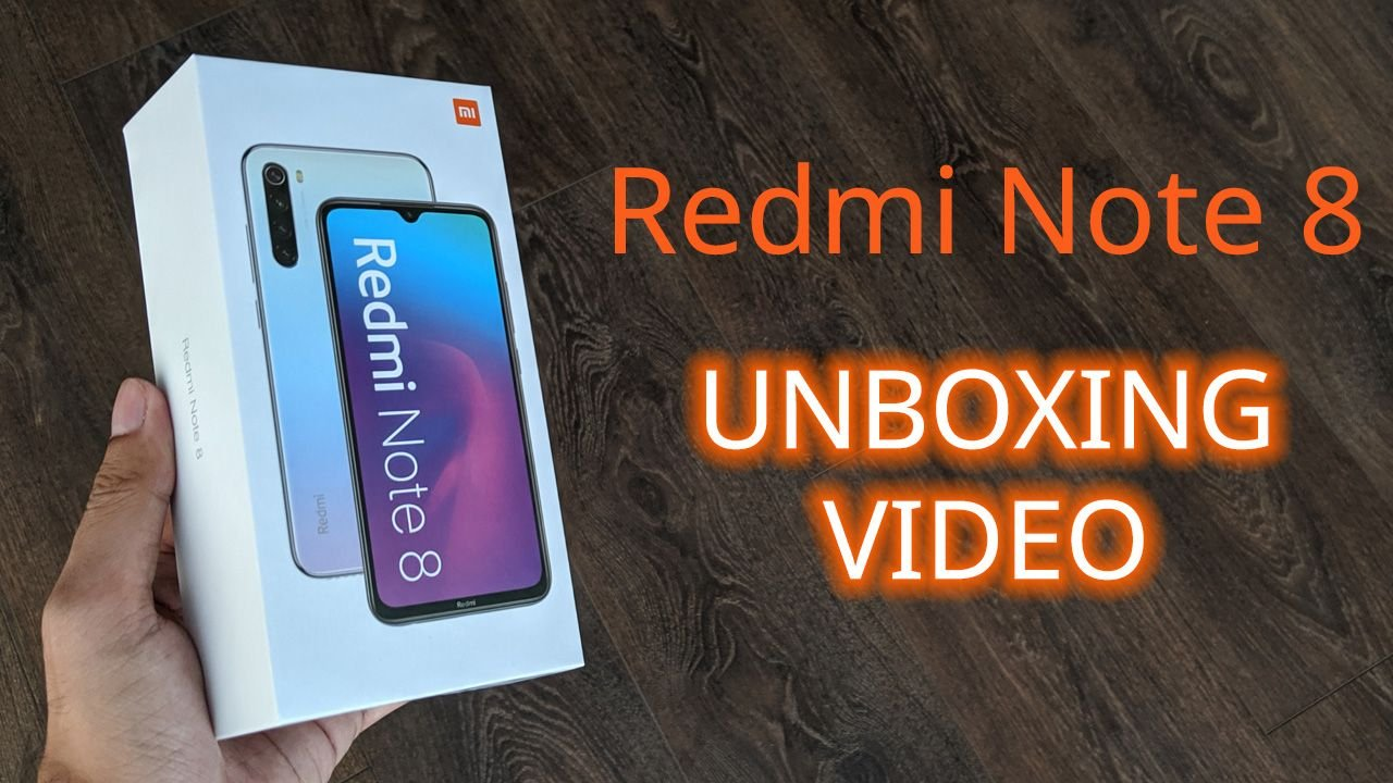 Xiaomi Redmi Note 8: Unboxing and First Impressions 1