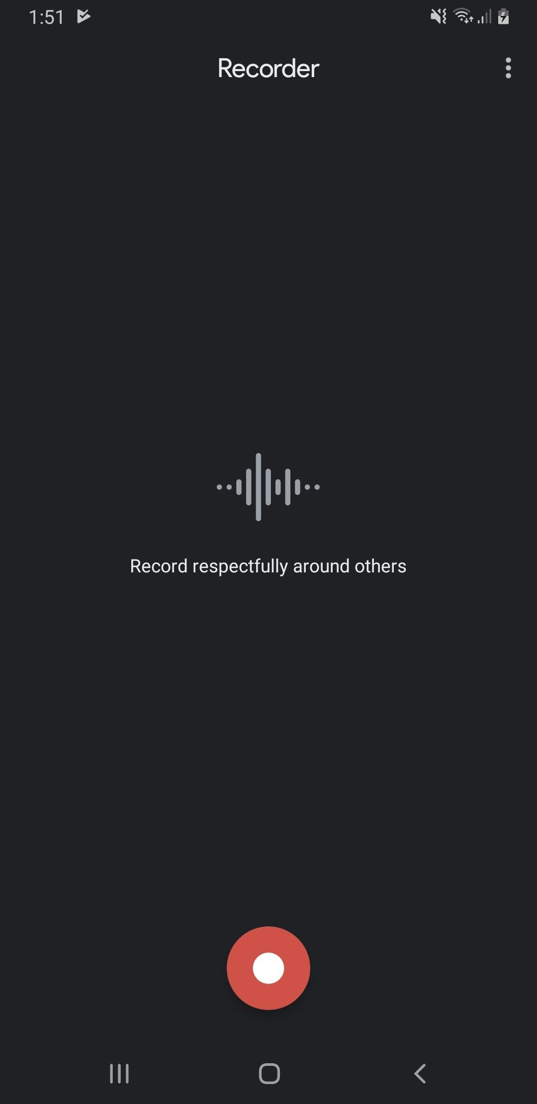 Download Google Pixel 4 Voice Recorder App for Android Phones 4