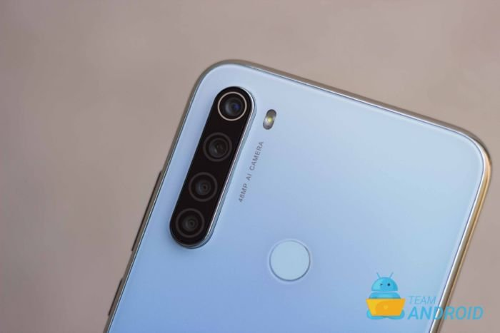 Redmi Note 8 Quad Camera Setup