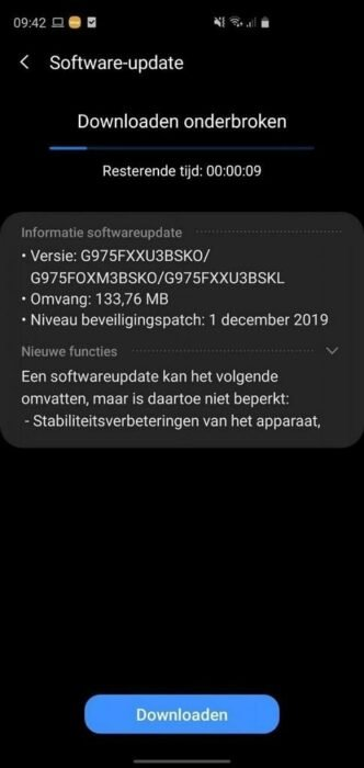 Samsung Galaxy S10 Receiving One UI 2.0 Android 10 Stable Firmware Update 1