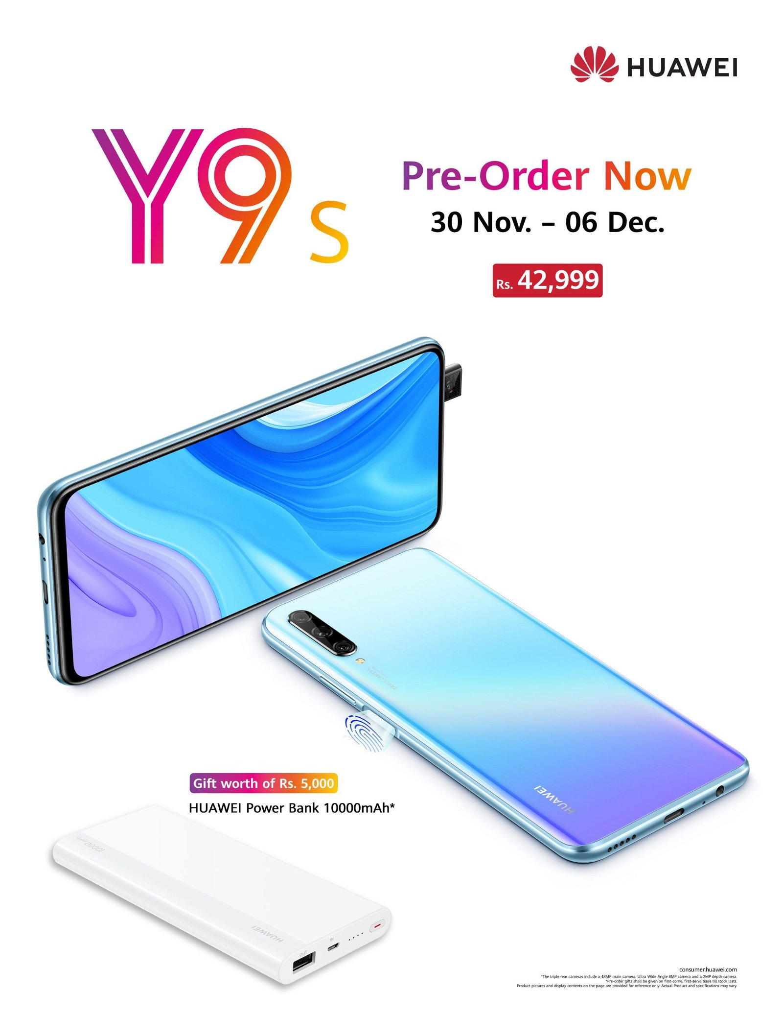 Huawei Y9s Available for Pre-Order in Pakistan 1
